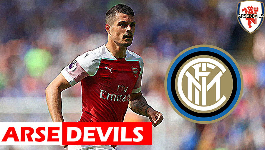 Granit Xhaka, Xhaka linked to Inter Milan