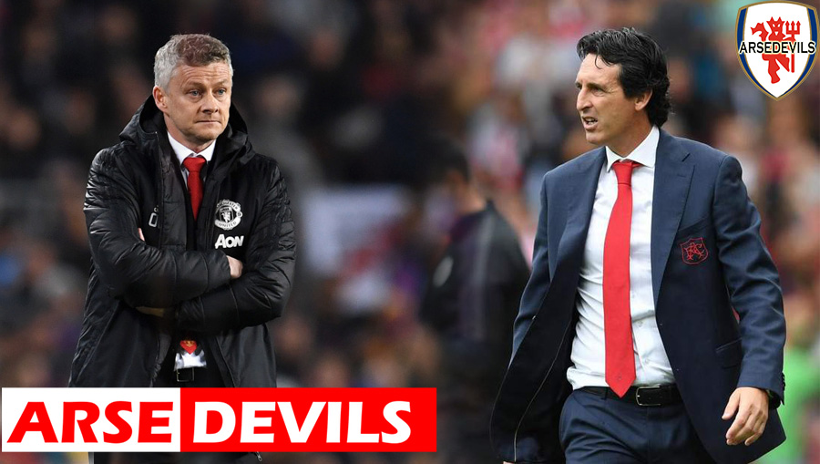 Arsenal, United, Emery, Solskjaer