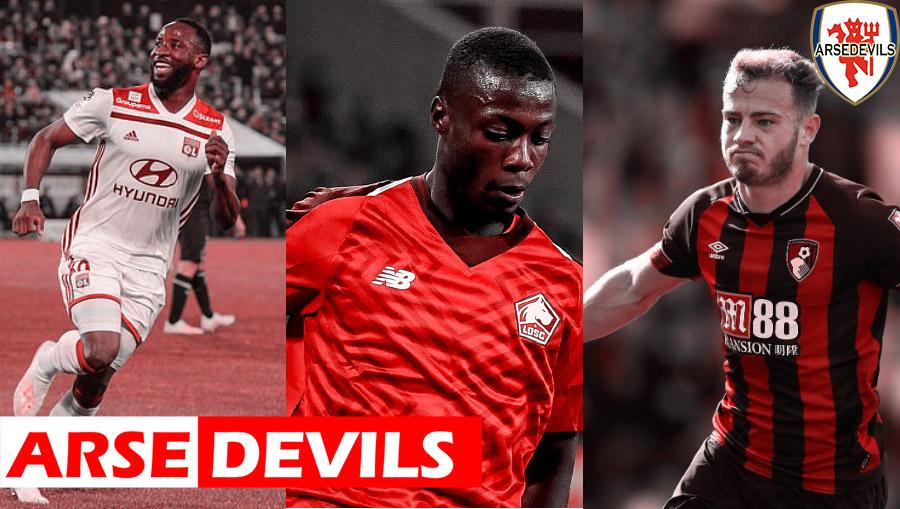 Moussa Dembele, Ryan Fraser, Nicolas Pepe, United transfer, United