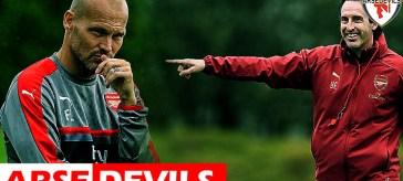 Ljungberg, Unai Emery, Arsenal manager