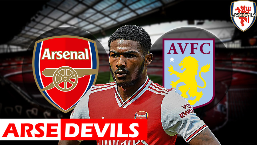 Maitland Niles, Arsenal Vs Aston VIlla