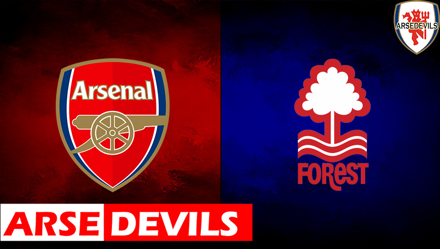 Arsenal Vs Nottingham Forest, Nottingham Forest