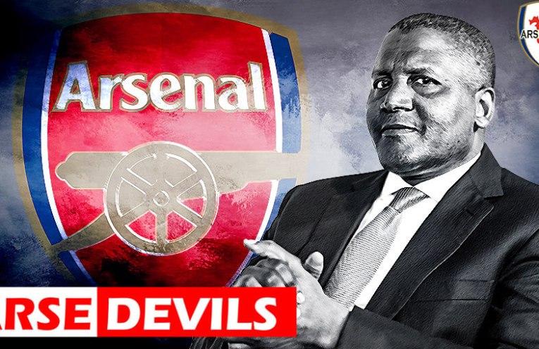 Aliko Dangote, Arsenal buyout