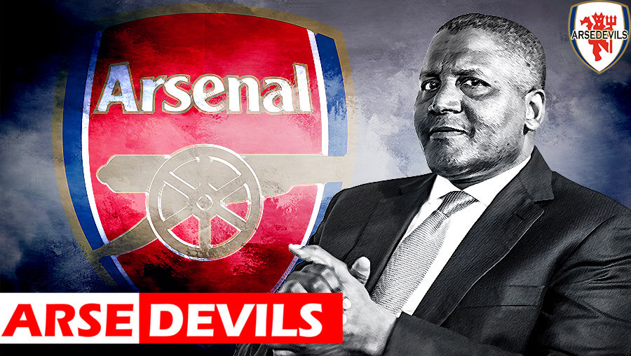 Aliko Dangote, Arsenal buyout