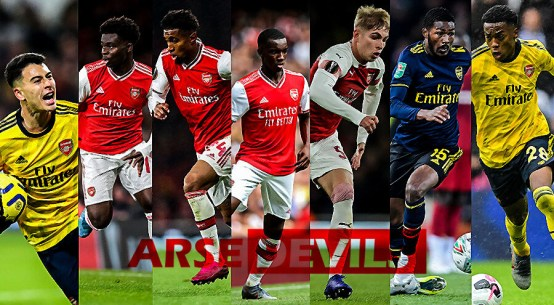 Arsenal's academy, Arsenal's youngsters, Arsenal youngsters,