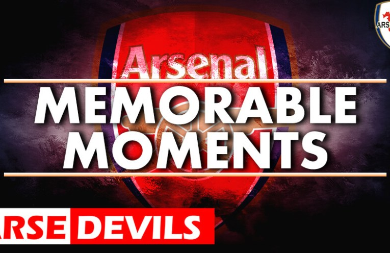 Arsenal memorable moments