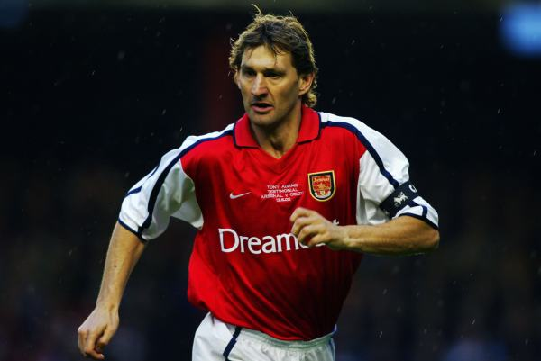 Tony Adams of Arsenal, captain