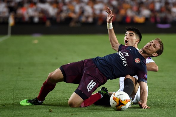 Valencia vs Arsenal Arsedevils Carlos Soler