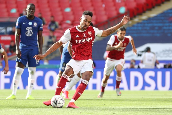 Arsenal vs Chelsea FA Cup, Aubameyang first goal