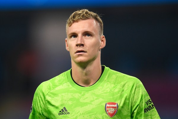 Bernd Leno, Manchester United vs Arsenal