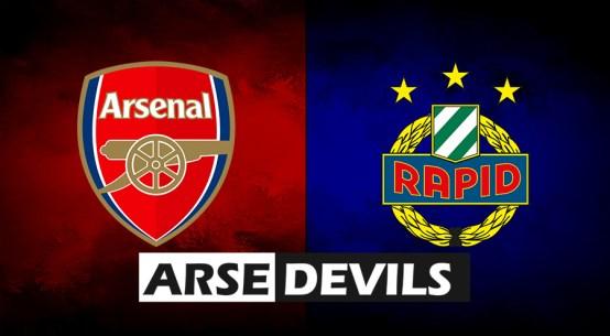 Arsenal vs Rapid Vienna