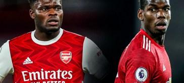 Arsenal v United, Partey, Pogba, Maguire Arsenal