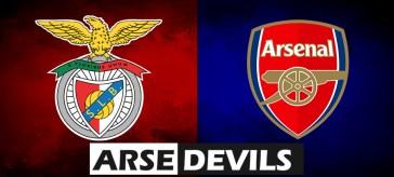 Benfica vs Arsenal, Benfica v Arsenal