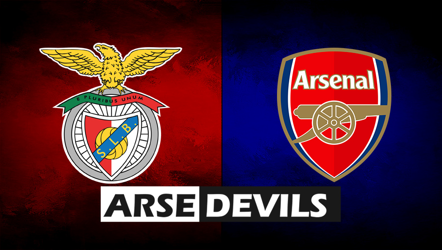 Benfica vs Arsenal, Benfica v Arsenal