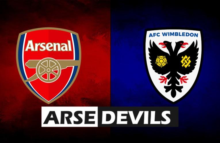 Arsenal vs AFC Wimbledon