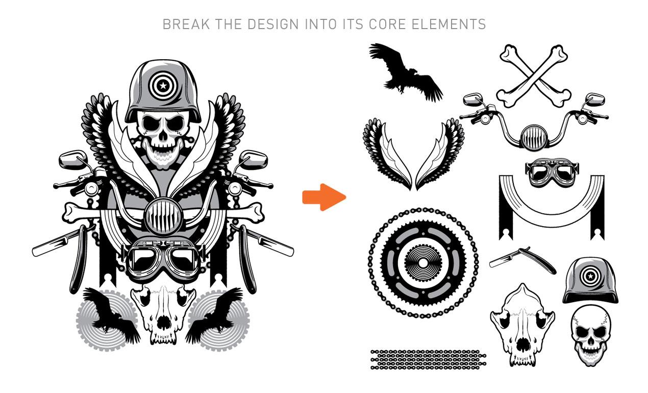 Rock And Roll Vector Shirt Design