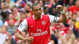 Gilberto celebrates scoring from the spot again