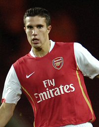 Van Persie is happy with bigger pre-season games