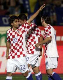 Eduardo opened the scoring against Bosnia