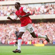 I'm expecting Adebayor to score against Sunderland