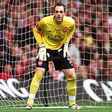 Will Almunia remain first-choice for the rest of the season?