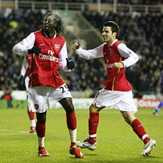 Adebayor is back on the scorers list