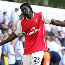 Adebayor has found his scoring touch