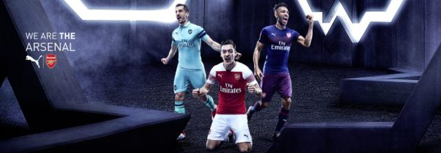 buy online a27a7 db29c Arsenal Kits 2018/19 - All Arsenal shirts and jersey from ...