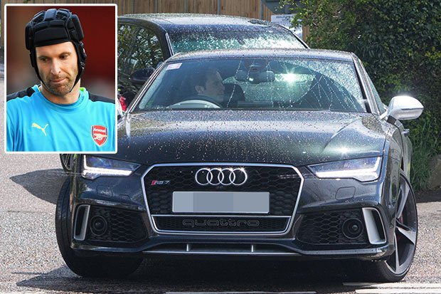 Arsenal Players Cars Petr Cech