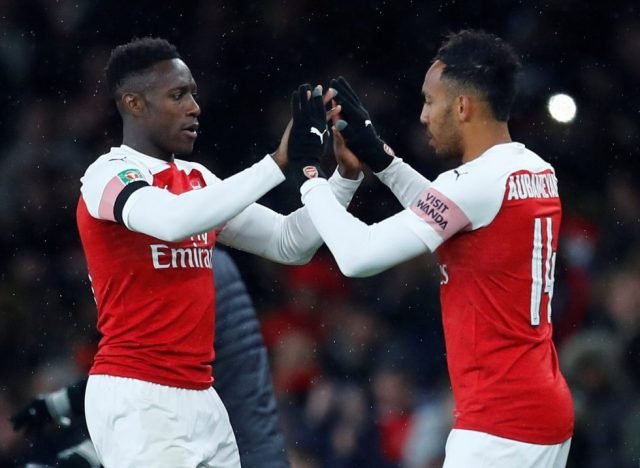 Arsenal Players' Contracts 2018-19 Danny Welbeck