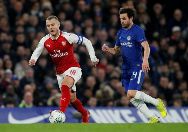 Arsenal Record Appearances Jack Wilshere Cesc Fabregas