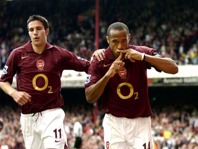 Arsenal Top Scorer This Season 2018-19 Robin Van Persie Thierry Henry