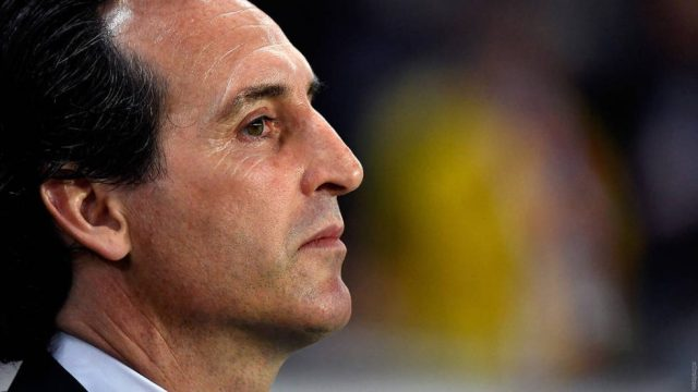 Arsenal current manager - Unai Emery