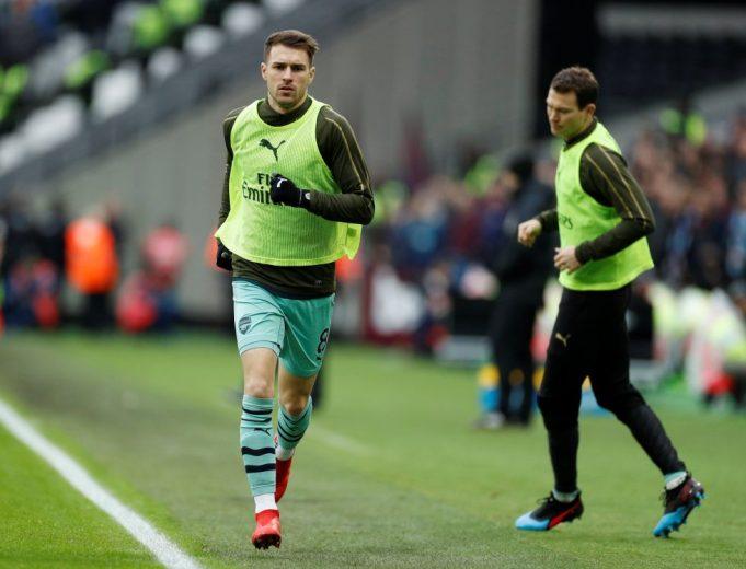 Juventus Take Dig At Arsenal For Misusing Aaron Ramsey