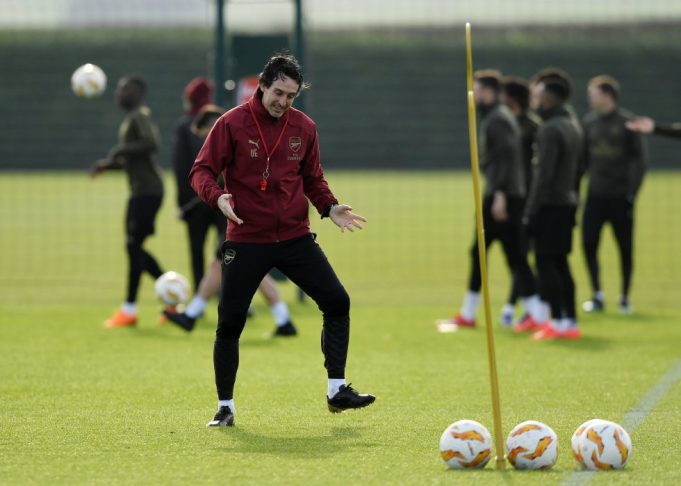 Unai Emery's Reasoning Behind Leaving Out Mesut Ozil For Europa League Match