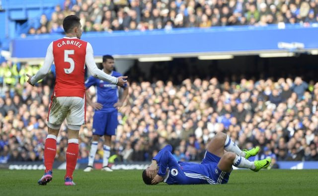 Arsenal Most Red Cards Premier League