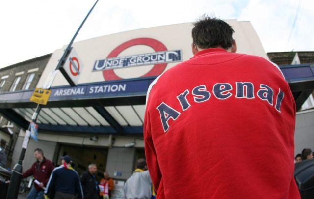 Arsenal Photos Highbury Station