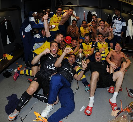Arsenal Players Dressing Room 2019