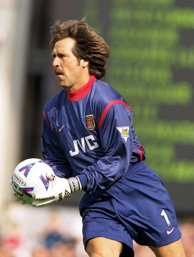 Arsenal Players With The Best Hair David Seaman