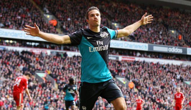 Arsenal Top Scorers Of All Time Robin Van Persie