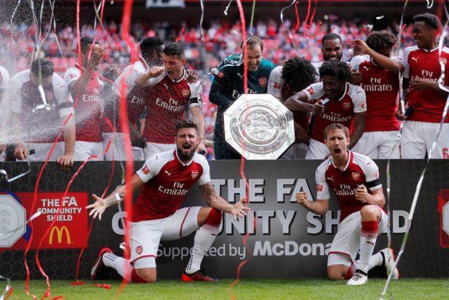 Arsenal Trophy Cabinet