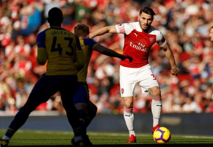 Kolasinac Admits Arsenal Can't Leave Themselves With A Lot To Do In The Next Europa League Matches