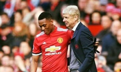ARSENE WENGER AND ANTHONY MARTIAL