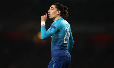 Arsenal right back Hector Bellerin ( Arsenal True Fans)