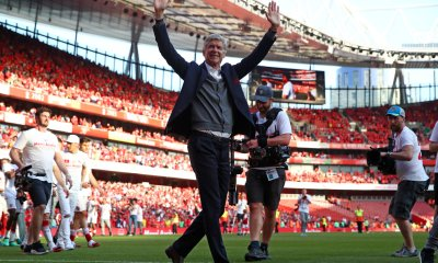 ARSENE WENGER AFTER BURNLEY MATCH