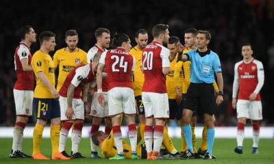 ARSENAL VS ATLETICO MADRID 2018