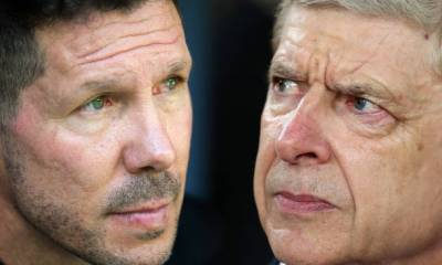 ARSENE WENGER AND DIEGO SIMEONE