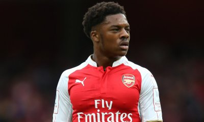 Arsenal's forward Chuba Akpom