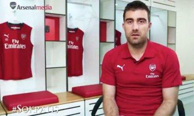 Arsenal new signing Sokratis Papastathopoulos