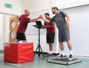 Sokratis Papastathopoulos At Arsenal Training Centre